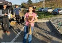 Ružica Pahor nakon pobjede na utrci Ivančica 24 sata