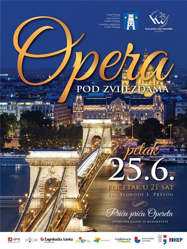 Ovogodišnji plakat Opere pod zvijezdama