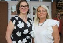 Biljana Bećirović i Milena Granatir