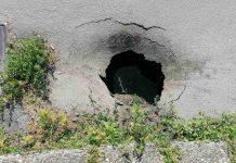 Ogromna rupa u Zrinsko Frankopanskoj ulici u Čakovcu