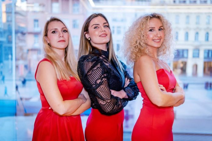 Tri sopranistice: Tamara Korunek, Gabriela Hrženjak i Irma Dragičević