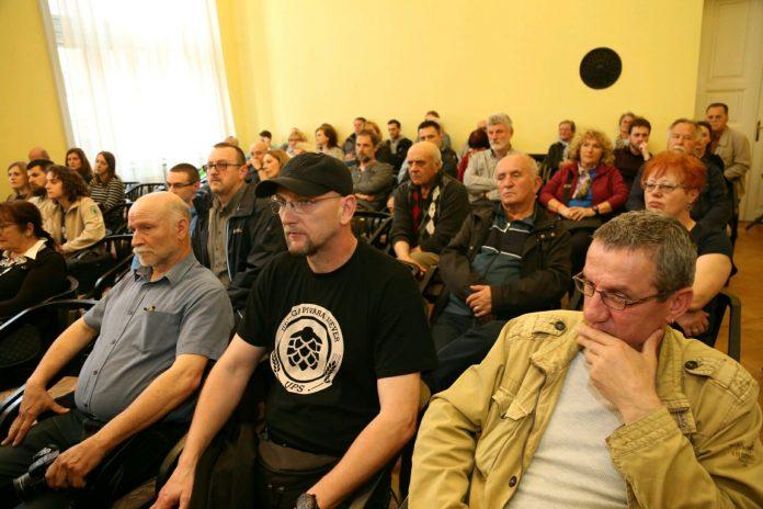 Ovako je izgledala Javna tribina u Domu sindikata u Čakovcu o revitalizaciji Perivoja Zrinskih 9. travnja 2019. godine