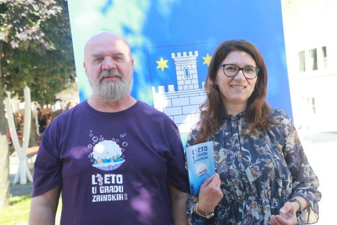 Program Ljeta u gradu Zrinskih su predstavili Robert Lisjak i Ljerka Cividini