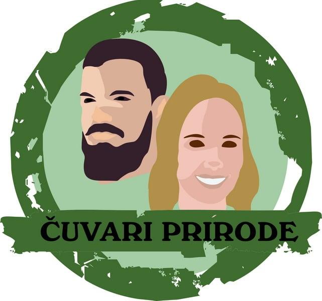 logo cuvari prirode- autor ilustracije Roberta Radović