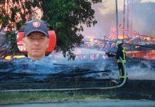 Tomislav Fajić bio je među prvim vatrogascima koji su stigli na mjesto požara u Čakovcu