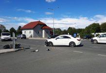 Prometna nesreća u Čakovcu na raskrižju Ulice Jakova Gotovca i Svetojelenske ceste
