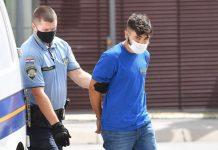 Osumnjičeni Nino Balog, foto: Vjeran Žganec Rogulja, Pixsell