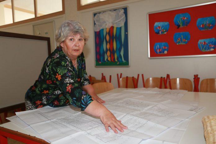 Ravnateljica Centra za odgoj i obrazovanje Dragica Benčik već nam je ranije ovog ljeta pokazala projekte koji su napravljeni, ali stoje