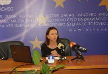 Damira Vresk ispred ČAKRE