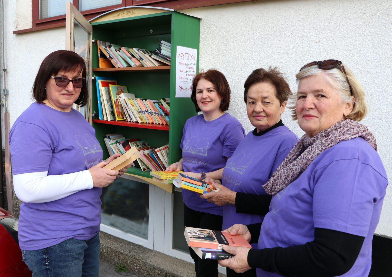 Čitateljski klub iz Svetog Jurja na Bregu postavio ormariće za knjige