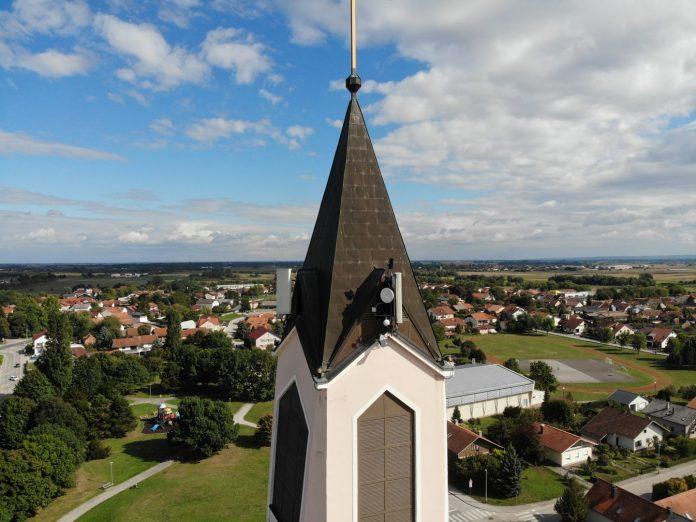 Foto: Toranj iz zraka snimio je Mario Golenko