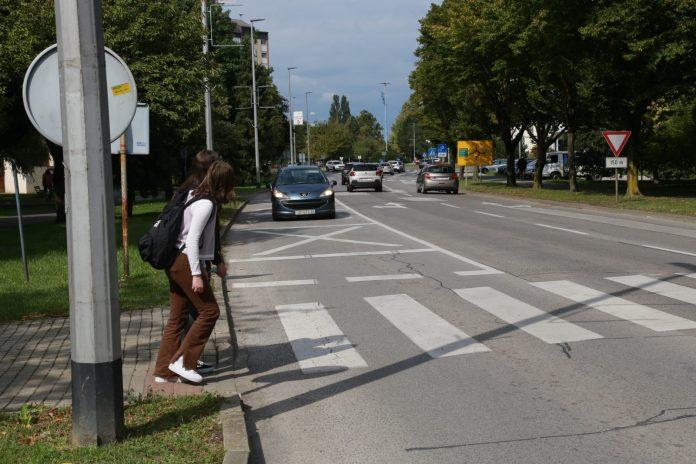 Pješački prijelaz u Vukovarskoj