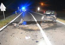Prometna nesreća Sv. Križ Štefanec, foto: PU međimurska