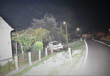 Prometna nesreća u Trnovcu, foto: PU međimurska