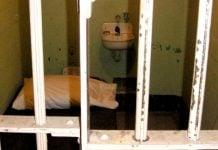 Zatvor, ćelija, ilustracija